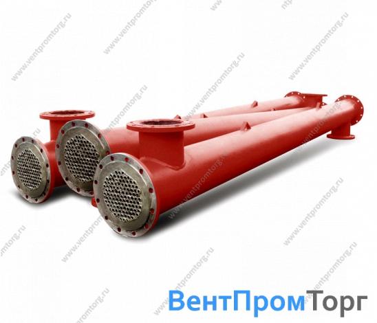 Теплообменник кожухотрубный водоводяной ВВП 09-168-2000